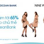 Nine West Việt Nam giảm giá với thẻ OceanBank dịp Giáng sing