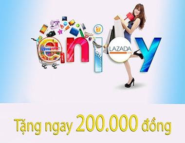 Mua sắm online nhận ngay 200.000đ từ Lazada với thẻ VIetinbank
