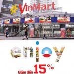 Chương trình ưu đãi cho chủ thẻ Vietinbank tại VinMart và VinMart+