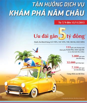 """chuong-trinh-khuyen-mai-""""tan-huong-dich-vu-kham-pha-nam-chau""""-tai-vietinbank"""