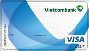 thẻ ghi nợ quốc tế Visa debit vietcombank