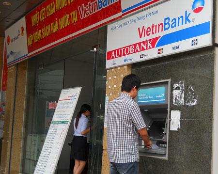 chuyển khoản qua ATM VietinBank