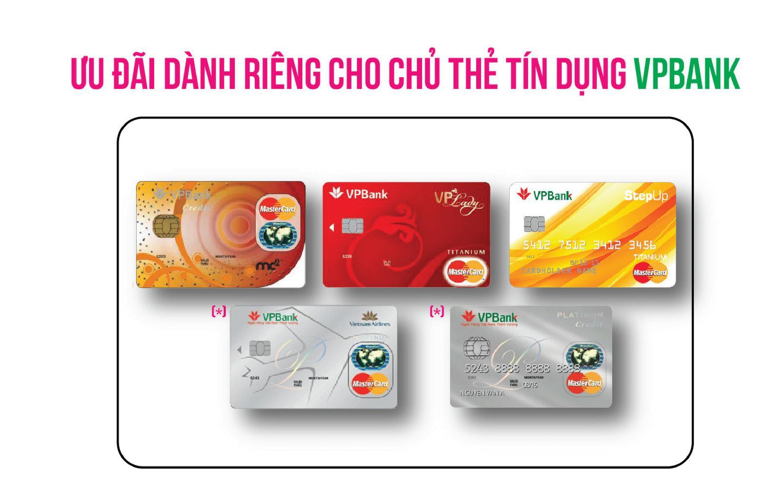 Ưu đãi thẻ tín dụng vpbank