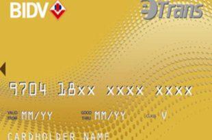 thẻ tín dụng bidv precious