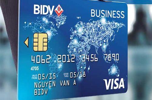 Giải đáp thắc mắc về thẻ tín dụng doanh nghiệp BIDV