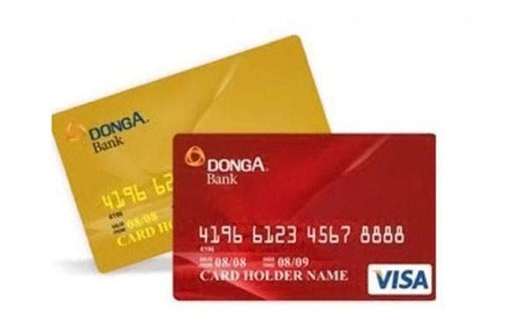 thẻ tín dụng ngân hàng đông á
