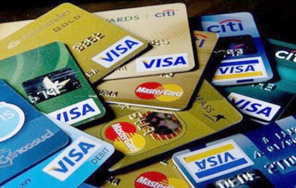 Một số thẻ tín dụng của các ngân hàng